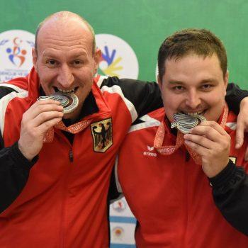 Deaflympics-Silber für Bowling-Doppel Andreas Schwarz/Sebastian Klotz