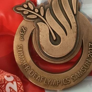Goldmedaille: Der Begriff Deaflympics fehlt im Oxford-Wörterbuch