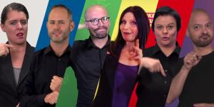 Sechs Wahlprogramme 2017 in Deutscher Gebärdensprache