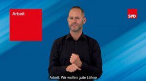 Wahlprogramm der SPD in DGS