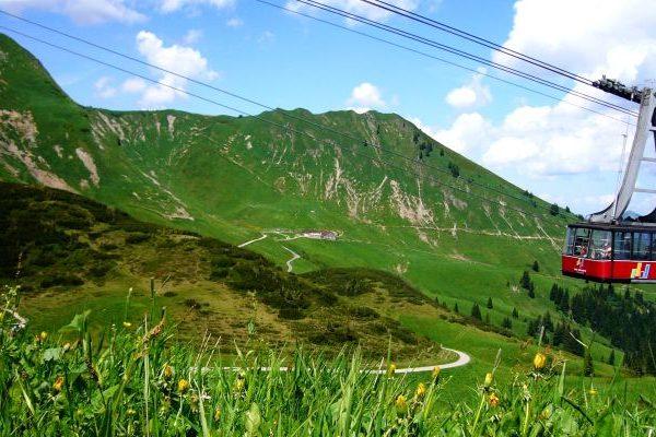 Kostenlos Seilbahn fahren: Die Fellhornbahn (Foto: VDS)