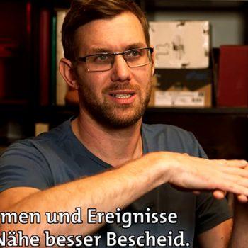DGZ-Chefredakteur Thomas Mitterhuber in Sehen statt Hören