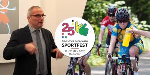 Startschuss zum 25. Sportfest der Gehörlosen in Dresden