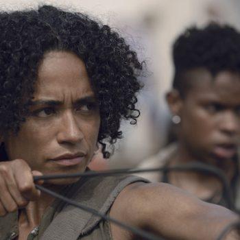 The Walking Dead mit der gehörlosen Schauspielerin Lauren Ridloff