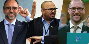 Drei Kandidaten für den WFD-Vorsitz