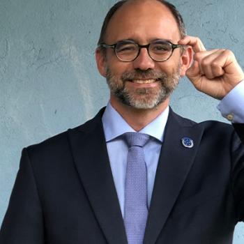 Der neue WFD-Präsident Joseph Murray